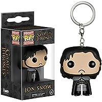 Funko 4449-PDQ Pocket POP! Keychain Game of Thrones Jon Snow