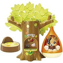 Zoopy - Baby Perrito y casa de árbol, color marrón claro (Colorbaby 43907)