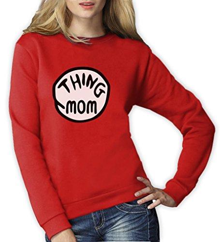 Sache Mom Frauen Rot XX-Large (Passenden Halloween Mom Kostüme)