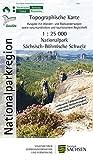 Nationalpark Sächsisch-Böhmische Schweiz: Nationalparkkarte / Wanderkarte 1:25 000, Ausgabe mit Wander- und Radwanderwegen sowie naturkundlichem und ... Freizeitkarten Sachsen 1:25 000) -