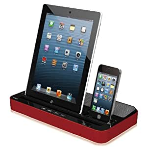 Enceinte et station d'accueil Foxnovo ipega PG-IP115 multi-purpose Stand Dock de recharge avec haut-parleur pour iPhone Apple iPad /iPod /Samsung
