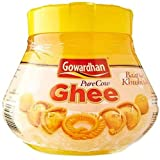 #10: Gowardhan Cow Ghee 500 GM with Plastic Container and Free Kohinoor Basmati Rice