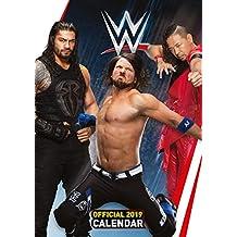 World Wrestling Men Official 2019 Calendar - A3 Wall Calenda