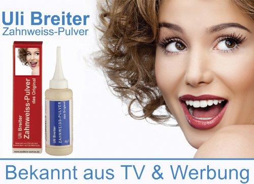 Uli Breiter Zahnweiss Pulver 40 g