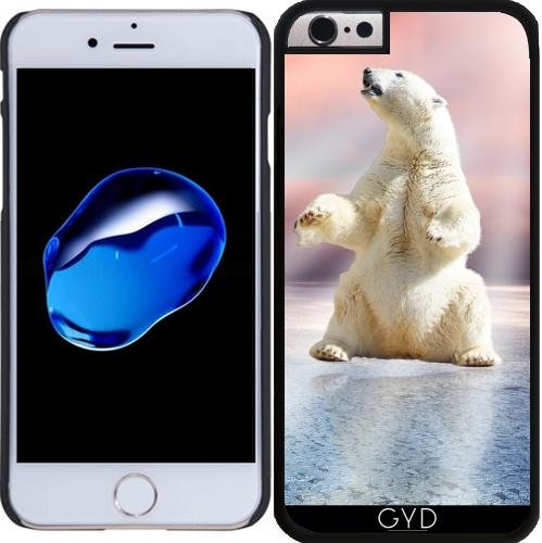 Coque pour Iphone SE - Ours Polaire Glacée Animale by WonderfulDreamPicture Plastique Rigide