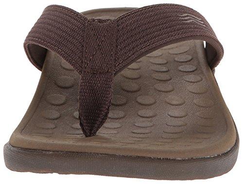 VIONIC Paire de semelles Orthaheel Technologie Wave orthatic Unisexe Sandale Chocolat