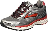 Brooks Herren Defyance 9 Gymnastikschuhe, Grau (Charcoal/Silver/high Risk Red), 45 EU