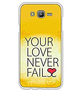 Fuson Designer Back Case Cover for Samsung Galaxy On5 (2015) :: Samsung Galaxy On 5 G500Fy (2015) (Pyar Quote Art Caligraphy India)