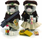 Sylvanian Families Bus Driver And Conductor