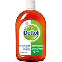 Dettol Antiseptic Disinfectant liquid for First aid, Surface Cleaning and Personal Hygiene, 1000 ML