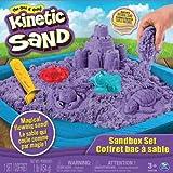 Kinetic Sand - 6024397 - Kit De Loisirs Créatifs - Coffret - Château De Sable-Coloris aléatoire