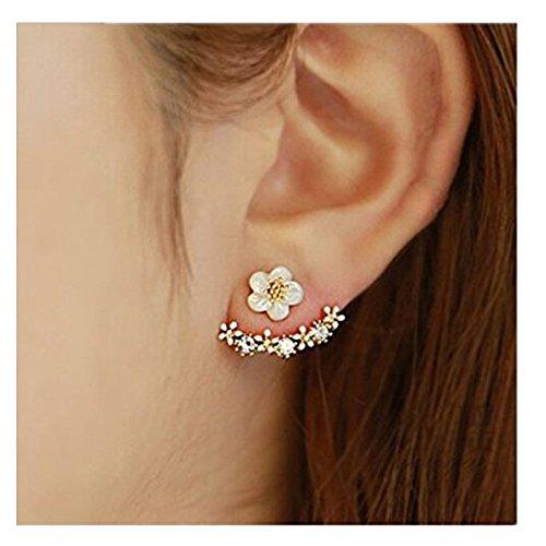 ILOVEDIY Neue Art-kleine nette Gänseblümchen-Blumen-Bolzen-Ohrringe für Damen Frauen Schmuck Accessoires