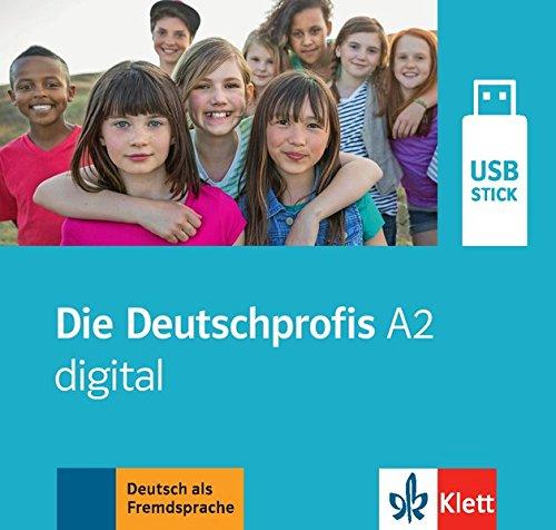 Die Deutschprofis A2, Manuel Numerique Sur Cle Usb par Collectif