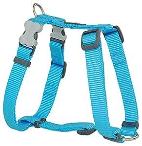 Red Dingo Plain Lime Green Dog Harness 20mm x (Neck: 36-59cm / Body 45-66cm)