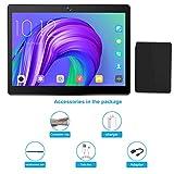 Tablet 10.1 pollici sbloccato, Tablet PC Android 7.0 con slot per scheda SIM doppio, 3G, GSM, Quad Core, memoria RAM da 2 GB + 32 GB, fotocamera integrata Dual Camera, Bluetooth 4.0, Wi-Fi e GPS