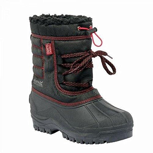 Regatta Trekforce II - Bottes de neige - Enfant unisexe rouge - noir