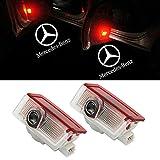 NMXPW 2 Stück Autotür LED Logo Türbeleuchtung Einstiegsleuchte Projektor Licht Willkommen Licht