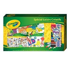 CRAYOLA Kit spécial loisirs créatifs