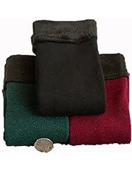 Socks ZY calcetines del piso de los calcetines gruesos calcetines de la mujer. durmientes de edad avanzada, más cálido terciopelo calcetines de lana del otoño y calcetines gruesos de algodón de invierno. cejar en calcetines , f , 1#