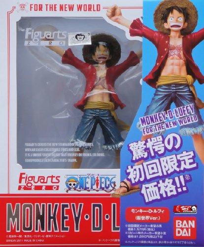 One Piece: Monkey D. Luffy Figuarts Zero Figure (New World Ver.) [Toy] (japan import) 2
