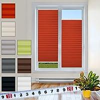 suchergebnis auf f r plissee klemmfix rot plissees rollos jalousien k che. Black Bedroom Furniture Sets. Home Design Ideas
