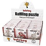 Knobelspiel Klassiker Sets, Likeluk 24 Stück IQ Puzzle 3D Set Knobelspiele Geduldspiele Rätselspiele Geschicklichkeitsspiele Perfektes Pädagogisches Intelligenzspielzeug für Erwachsene und Kinder