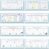 HKEPS - Planificador semanal portátil, 40 hojas