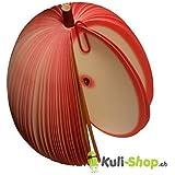 3D Früchte Notizblock Apfel rot