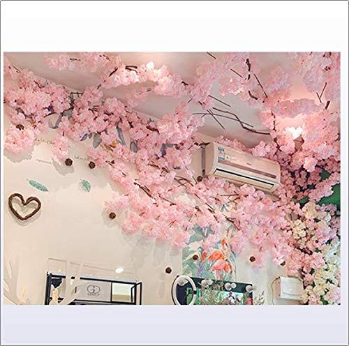 XNNSH Künstliche Kirschblütenbaum Sakura Baum Künstliche Pflanze für Event Indoor Outdoor Party Restaurant Mall Seidenblume (10FT / 3M)