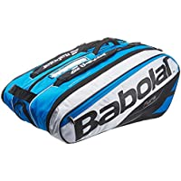 Babolat RH X 12 Pure Fundas para Raquetas de Tenis, Unisex Adulto, Azul/Blanco, Talla Única