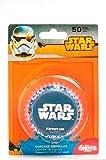 Star Wars 339235Pack 50Muffinförmchen Cupcakes Papier schwarz 5x 5x 3cm
