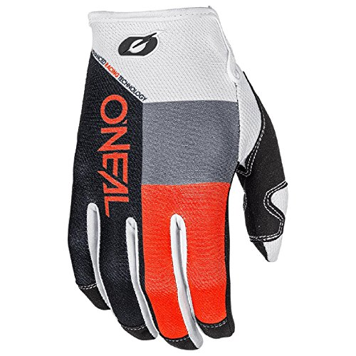O'Neal Mayhem Split MX Handschuhe Motocross DH Downhill Enduro Offroad Mountain Bike, 0385, Farbe Orange, Größe L (Off-road-mountain-bike)