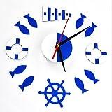 GT Pegatina de pared, Mudo, reloj de pared, bricolaje, personalidad, reloj, pasta de espejo, de alto grado, sala de estar, pegatinas de pared, decoración