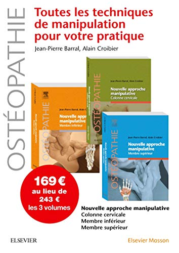 Nouvelle approche manipulative. Pack des 3 tomes: Pack 3 Tomes