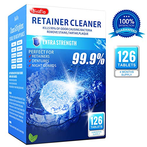 Retainer Cleaning Tablets - 126 ...