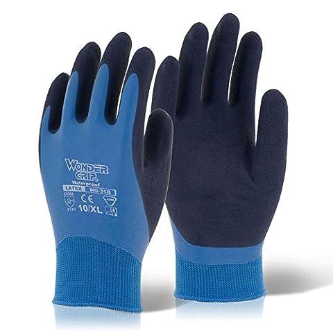 MEDIUM Wonder Grip Waterproof Nylon Lined & Latex Coated Safety
