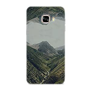 Qrioh Printed Designer Back Case Cover for Samsung C5 - 116M-MP2787