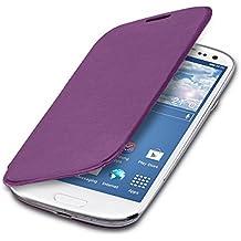 kwmobile Funda potectora práctica y chic FLIP COVER para Samsung Galaxy S3 / S3 Neo en violeta