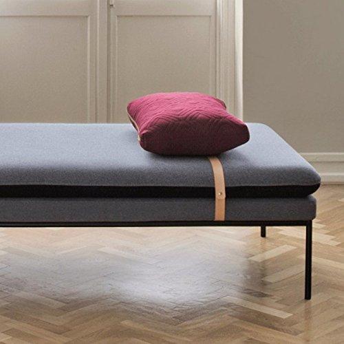 Ferm Living – Quilt Cushion – Kissen – Bordeaux – 60 x 40 - 4