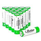 LiBatter (16 Packs) AA 2850mAh NI-MH-Akkus Leistungsstarke Akkus f¨¹r Ger?te mit hohem Stromverbrauch