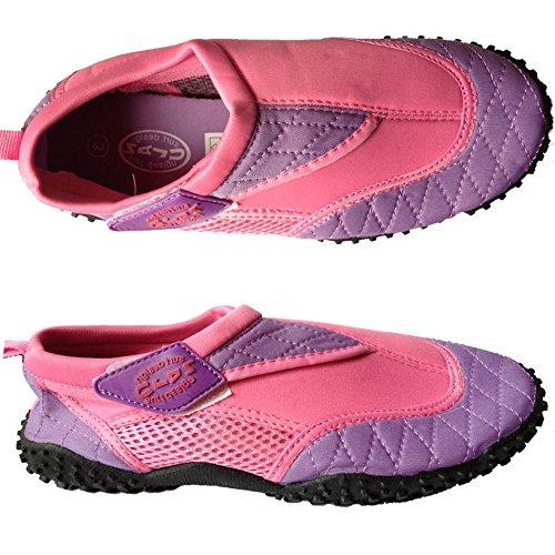 Nalu - Scarpe da spiaggia Aqua agli adulti, (rosa), taglia unica (rosa)
