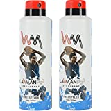 LAWMAN PG3 2 Freestyler Deodorant Spray - For Men (420 Ml, Pack Of 2)