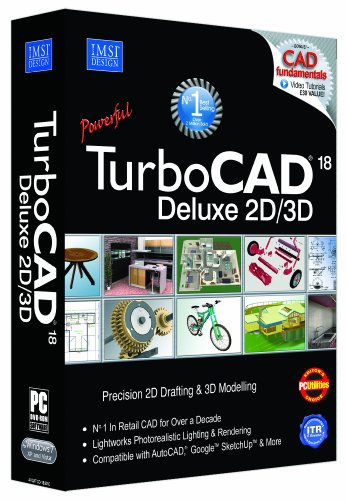 Avanquest-TurboCAD-18-Deluxe-Software-de-diseo-automatizado-CAD-PC-Pentium-IV-Caja-64-MB-of-swap-space-Super-VGA-1024-x768-display-High-Colour-16-bit-graphics-support-Windows-XPVista7