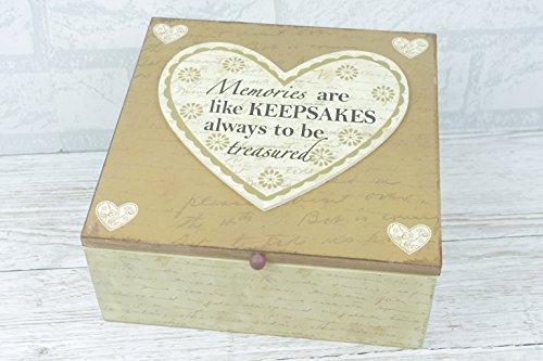 Memory Box I Ricordi sono come ricordi sempre essere Treasured Cuori sg1859