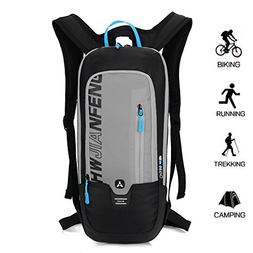 BLF 10L Bike Backpack, Waterproof Breathable Cycling Bicycle Rucksack, Mini Ultralight Biking Daypack Mens Womens Pack Sport Bags Gift for Running Hiking Climbing Camping Racing Skiing Biking Mountaineering Trekking Riding