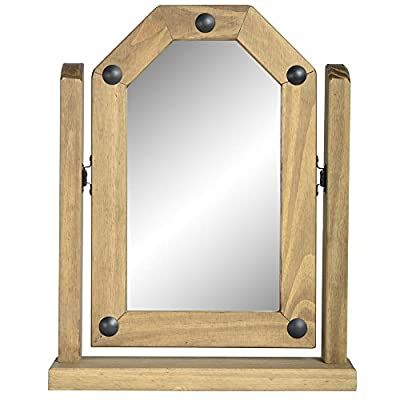 Seconique Corona Pine Dressing Table Mirror