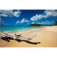 Stampa su tela 120 x 80 cm: Paradise in Antigua