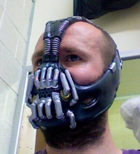 Bane Maske Luxus Polyurethan (Bane Von Batman Maske)