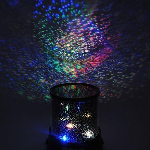 Romantic LED Night Sky proiettore Bambini Regalo Di Natale Stella Luce Cosmos (Lampada Proiettore Holder)