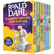 Roald Dahl's Scrumdiddlyumptious Story Collection (Roald Dahl Box Set)